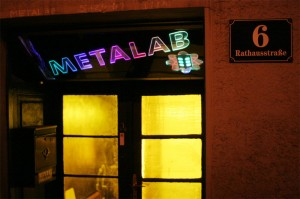 Entrance to the Metalab.