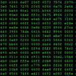 Hex dump of compressed Linux 4.20 kernel image.