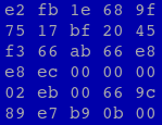 Hex dump from /boot/vmlinuz-5.4.3