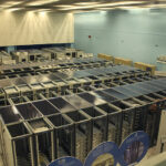 The CERN datacenter with World Wide Web and Mail servers.