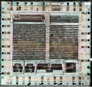 "MYK-78 ""Clipper Chip"" by Travis Goodspeed, see: https://commons.wikimedia.org/wiki/File:MYK-78_Clipper_Chip.jpg"