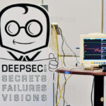 Medical monitor on the stage of DeepSec In-Depth Security Conference 2012.